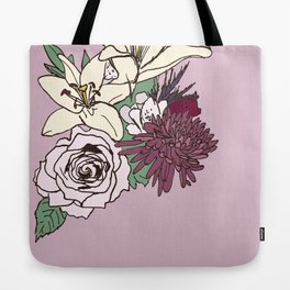 Flowers From The Universe Tote Bag