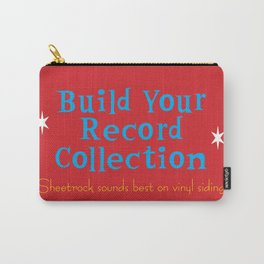 Build Your Record Collection Carry-All Pouch