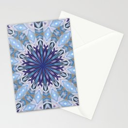 Winter abstract pattern Stationery Cards