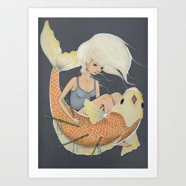 captive Art Print