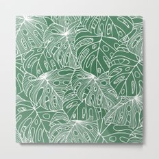 Philodendron Metal Print