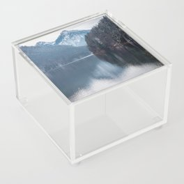 Beautiful lake, Bavarian alps Acrylic Box