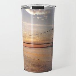 Humber Bridge Sunset Travel Mug