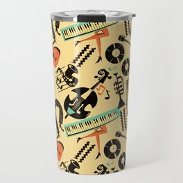 Jazz Rhythm (positive) Travel Mug