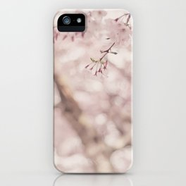 Pastel sakura iPhone Case