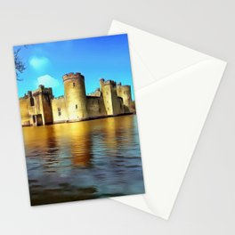 Bodium Castle (Painting) Stationery Cards