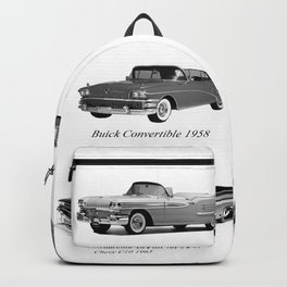 Classic Car Collection Backpack