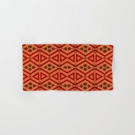 Tribal Pattern Design Hand & Bath Towel