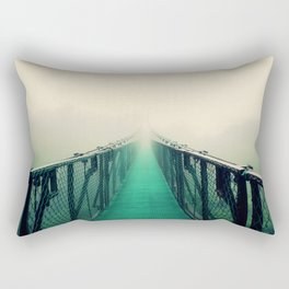 suspension bridge Rectangular Pillow