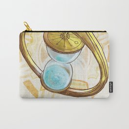 Keepers of Time Comic Hourglass Logo Carry-All Pouch