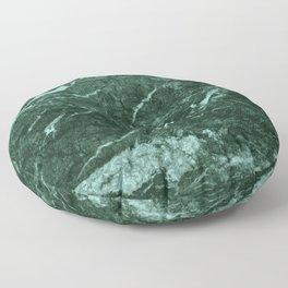 Dark Green Marble texture Floor Pillow