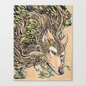 Dog of the Mountain - Honshu Wolf by saraotterstaetter