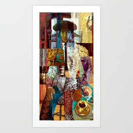 Still Life with Matador Art Print