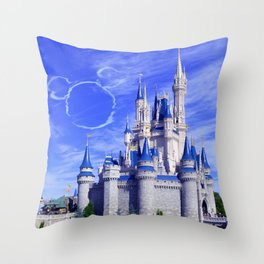 Mickey in the Sky Throw Pillow