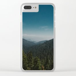 Sequoia National Park Clear iPhone Case