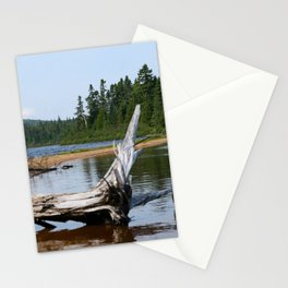 Peacefull Lake in Canada Stationery Cards