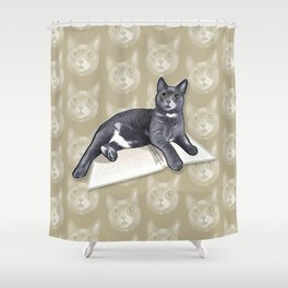 Ms. Kitty Shower Curtain