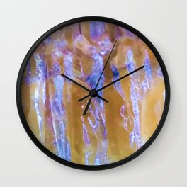 Rainbow in Crystal Wall Clock