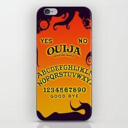 Scary Ouija Board iPhone Skin