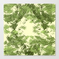 duvet cover Canvas Prints featuring Duvet Cover 408D by Michael Mackin