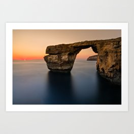 Azure Window - Gozo  (RR88) Art Print