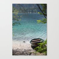 boat Canvas Prints featuring Boat by L'Ale shop