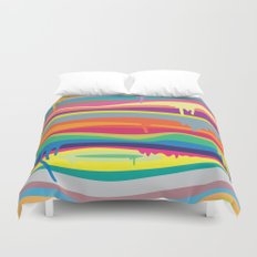 The Melting Duvet Cover