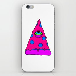 Illuminati Pizza - Swag Pepperoni Confirmed PINK iPhone Skin