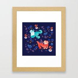 Brrr Framed Art Print