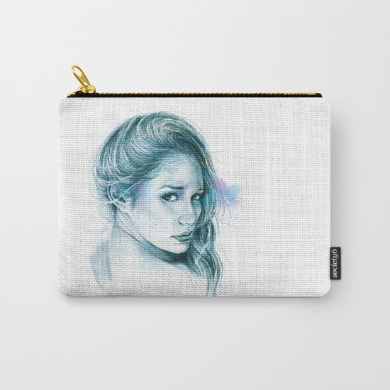 Look away, look away... | blue Carry-All Pouch