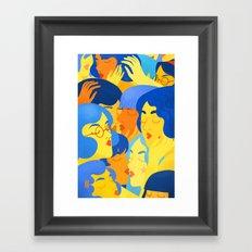 Elles x Elles Framed Art Print