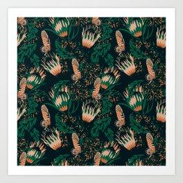 Boheme Butterfly Art Print