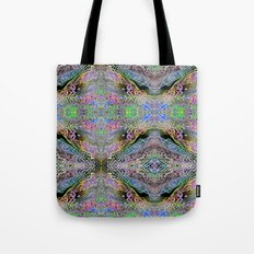 Neon Pinstripes 3 A Tote Bag