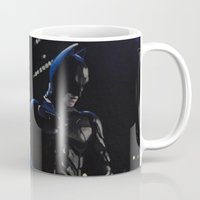 superhero Mugs featuring Superhero by Vanessa Antonina
