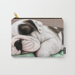 Sleeping Puppy Carry-All Pouch
