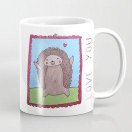 Cute Hedgehog Coffee Mug
