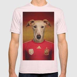 Worldcup 2014 : Spain - Spanish Galgo T-shirt