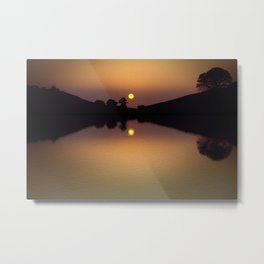 The lake that dreams are made of. Metal Print