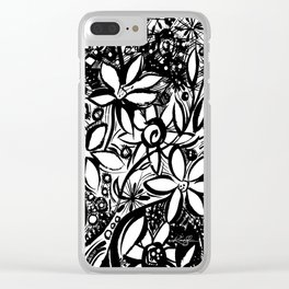 Organic Dreams No. 2 by Kathy Morton Stanion Clear iPhone Case
