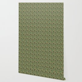 Military Camouflage Pattern - Brown Yellow Green Wallpaper