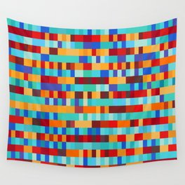 Bach Invention (Fire and Iceberg Colours) Wall Tapestry