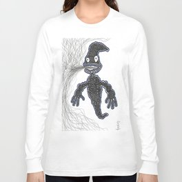 Smoke Ghost Long Sleeve T-shirt
