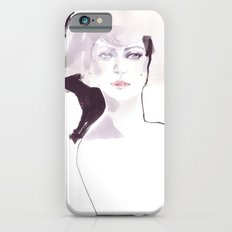 Fashion illustration in pale colors Slim Case iPhone 6s