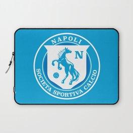 Naples Horse Football badge Laptop Sleeve