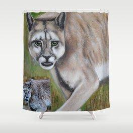Felino Shower Curtain