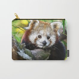 CArt red Panda Baby Carry-All Pouch