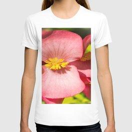 Shiny Red Flower T-shirt