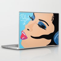 aaliyah Laptop & iPad Skins featuring Aaliyah in Music by NelxArt