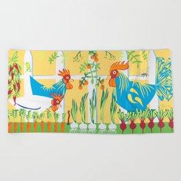 Earlybirds Beach Towel