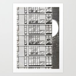 Places I've Lived Series - 5 Art Print